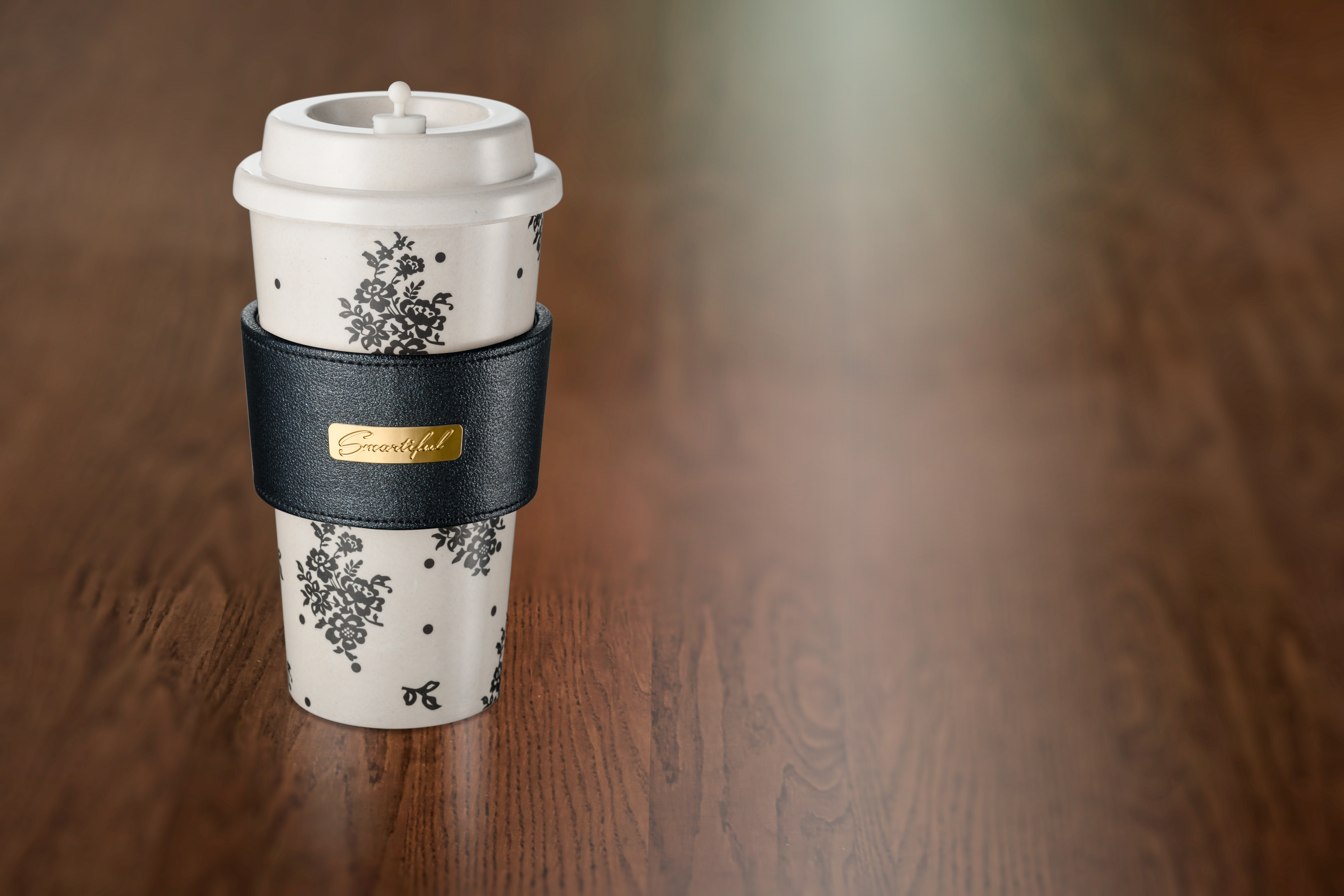 smartiful coffe cup pretty lace black