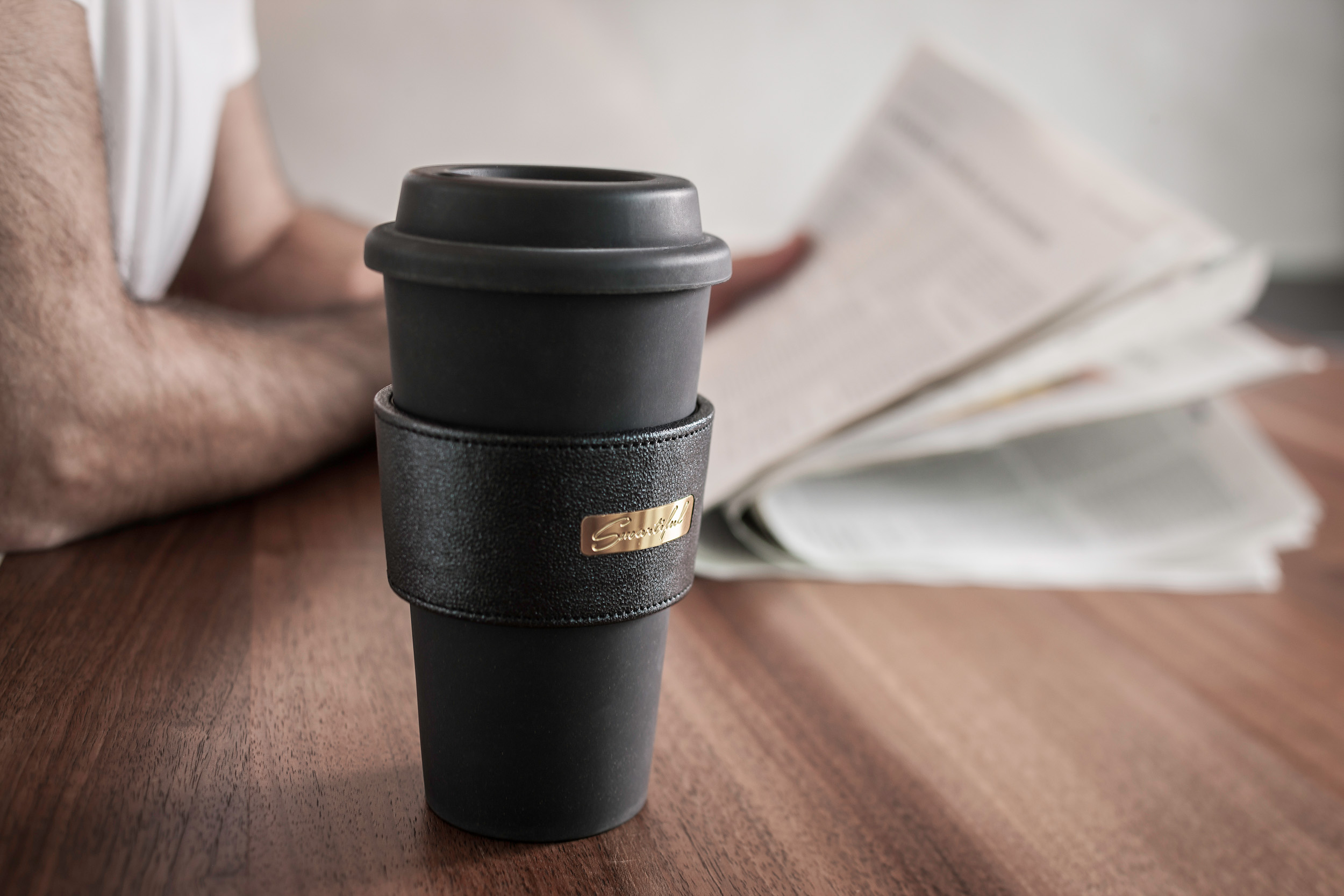 smartiful coffee cup strong black