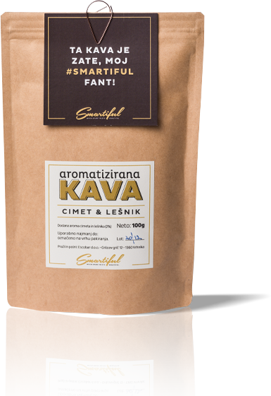 Smartiful Flavored Coffee (CINNAMON/HAZELNUT)